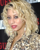 Keri Hilson's Curly Blonde Hairstyle
