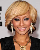 Keri Hilson's Side-swept Bang