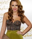 Kimberley Walsh's Long Curly Hairstyle