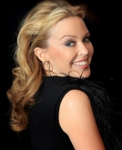 Kylie Minogue's Medium Curly Hairstyle