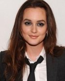 Leighton Meester's Brunette Loose Waves