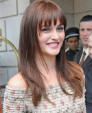Leighton Meester's Sexy New Hairstyle with Bangs