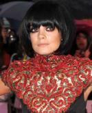 Lily Allen's Black Bob Haircut