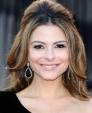 Maria Menounos' Romantic Half-up Hairstyle