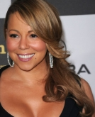 Mariah Carey's Long Layered Wavy Hairstyle