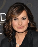 Mariska Hargitay's Medium Curls with Side-Swept Bangs
