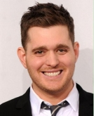 Michael Buble's Classic Short Hairstyle at 2010 AMA