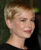Michelle Williams' Platinum Blonde Pixie Hairstyle
