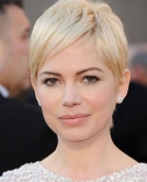 Michelle Williams' Short, Blonde Hair