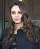 Mila Kunis' Long Tousled Curls