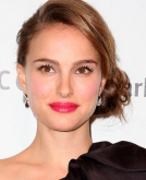 Natalie Portman's Chic Low Side Bun