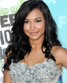 Naya Rivera's Black Curly Hairstyle