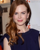 Nicole Kidman's Red Curly Hairstyle