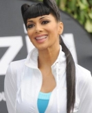 Nicole Scherzinger's Funky, One-of-a-kind Hairstyle