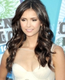 Nina Dobrev's Long Curls