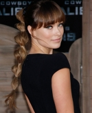 Olivia Wilde's Striking Ponytail Hairstyle