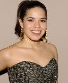 America Ferrera's Sleek Ponytail