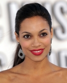 Rosario Dawson's Sleek Ponytail