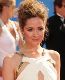 Rose Byrne's Messy Updo
