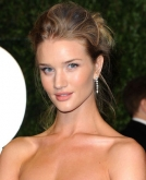 Rosie Huntington-Whiteley's Sophisticated Updo