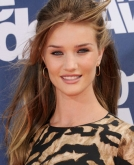 Rosie Huntington-Whiteley's Fabulous Half-up, Half-down Hairstyle