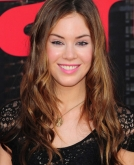 Roxanne McKee's Romantic Long Wavy Hairstyle