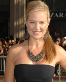 Sharon Case's Textured Ponytail at the 'Inception' Premiere