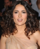 Salma Hayek's Sexy Medium Curls
