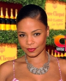 Sanaa Lathan's Sleek Tight Chignon