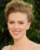 Scarlett Johansson's Curly Updo Hairstyle