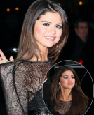 Selena Gomez's Sleek, Long Layered Hairstyle