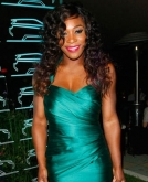 Serena Williams' Curly Hairstyle
