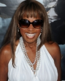 Star Jones's Straight Hairstyle With a Blunt Bang
