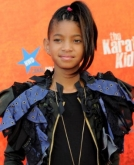 Willow Smith Funky Ponytail