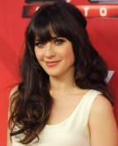 Zooey Deschanel's Sexy, Long Loose Curls