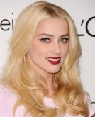 Amber Heard's Sexy, Shiny Blond Waves