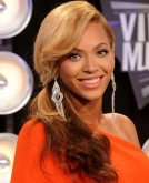 Beyonce Knowles' Sweet  Side Ponytail