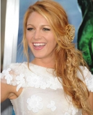 Blake Lively's Tousled Braided Hairstyle