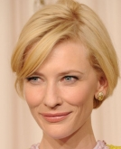 Cate Blanchett's Blonde Short Hair