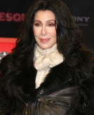 Cher's Center-parted Long Loose Waves