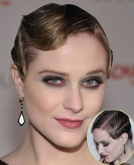 Evan Rachel Wood's Edgy Retro Curls