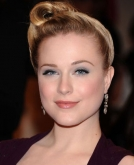 Evan Rachel Wood's Twisted Bun