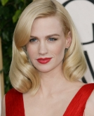January Jones's Reto Waves