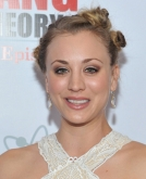 Kaley Cuoco's Multiple Knotted Buns