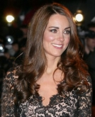 Kate Middleton's Long Curly Hairstyle