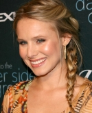 Kristen Bell's Braided Hairstyle