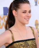 Kristen Stewart's Long Messy-on-purpose Ponytail