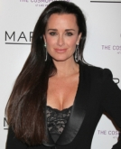 Kyle Richards' Long, Straight Hairstyle