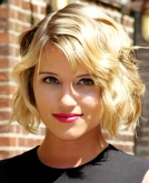 Dianna Agron Rocks New Bob Haircut