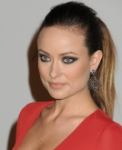 Olivia Wilde's High Ponytail